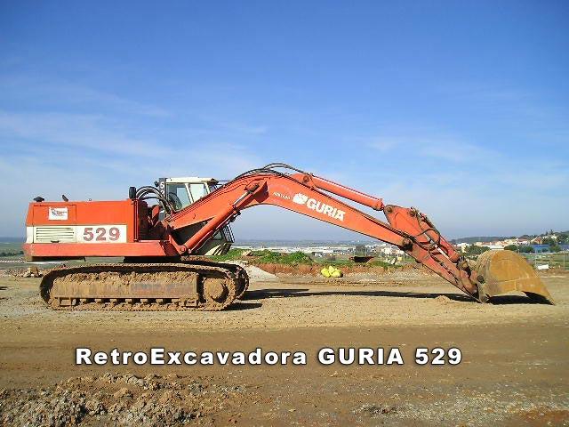 escavatori guria spagnoli anni 80/93 RetroExcavadora_Guria529